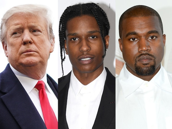 Donald Trump Says He Spoke to Kanye West About Working to Get A$AP Rocky Released from Swedish Custody